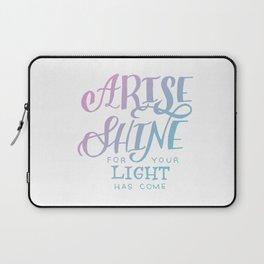 ARISE // SHINE Laptop Sleeve