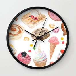 sweet and salty Wall Clock