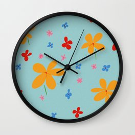Buttercups Wall Clock