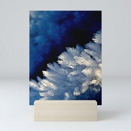 Frozen details Mini Art Print