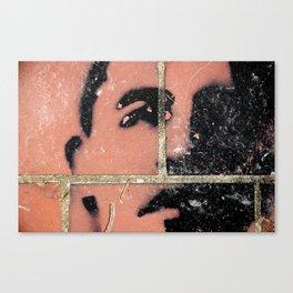 Brick Obama Canvas Print