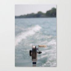 Ocean Breeze, Reel Me In Canvas Print