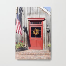 Small Town America Metal Print