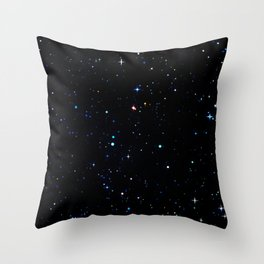 Rainbow Constellations Throw Pillow