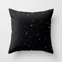 Rainbow Constellations Throw Pillow