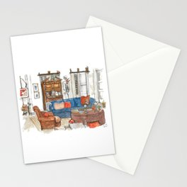 Will and Grace - Will Truman's Apartment Stationery Cards