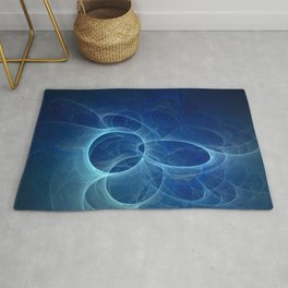 abstract fractal background Rug