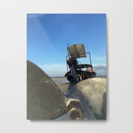 A Propellers Day Off Metal Print