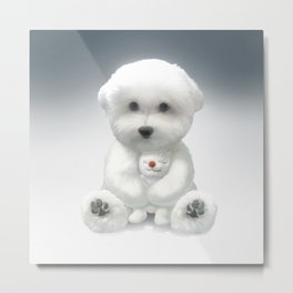 Cuddle Time Metal Print