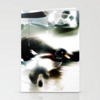 ducks Stationery Cards featuring ducks  by Gréta Thórsdóttir