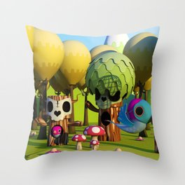 The TreeBorn Gang Throw Pillow