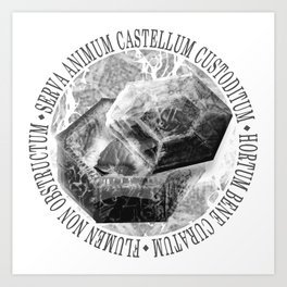 Castellum - Forever, in Pieces Art Print