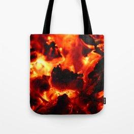 Hot Embers Tote Bag
