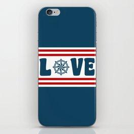Love compass iPhone Skin