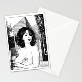 asc 345 - La muse secrète de Monsieur HTL (Mr. HTL's secret muse Stationery Cards