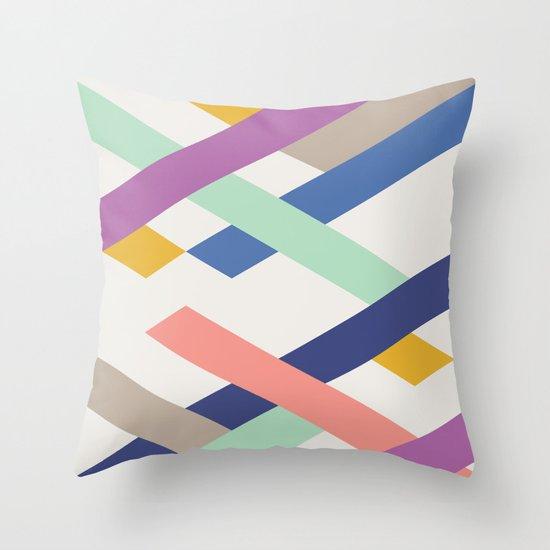 Overlay Throw Pillow