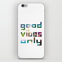 coachella iPhone & iPod Skins featuring good vibes only // Coachella by Tosha Lobsinger is my Photographer