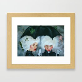 Heavy Enough to Fall Framed Art Print