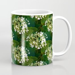 Hills-of-snow hydrangea pattern Coffee Mug