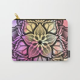 Watecolor Mandala Carry-All Pouch