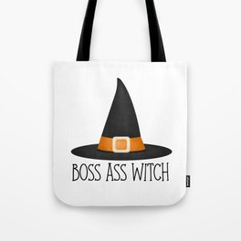Boss Ass Witch Tote Bag