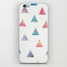 Marble Triangles iPhone Skin