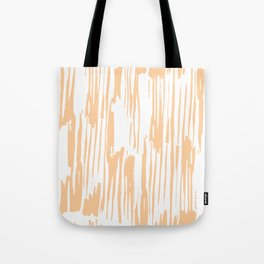 Modern Coral Stripes IV Tote Bag
