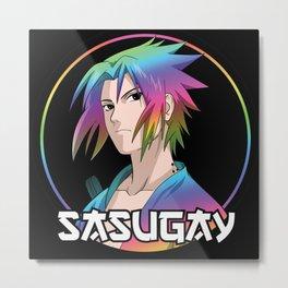 Sasugay Metal Print