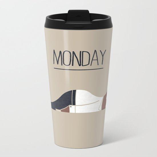 Monday Metal Travel Mug
