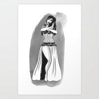 Soheir Zaki Art Print