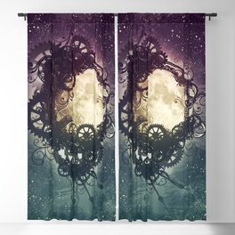 Clockwork Moon Blackout Curtain