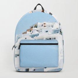 Lost in Santorini Greece Backpack