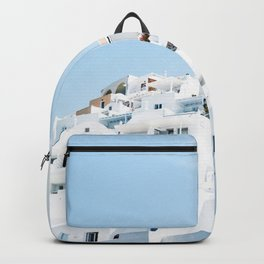 Lost in Santorini Greece Backpack