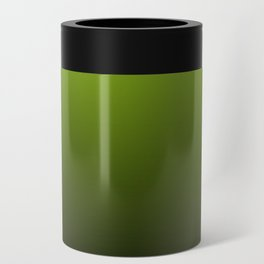 Ombre | Lime Green and Charcoal Grey Can Cooler