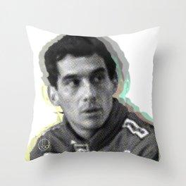 Oh Ayrton! Throw Pillow