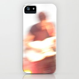 Albert Hammond Jr. Blur - The Strokes iPhone Case