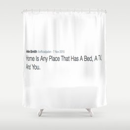 DEEP THOUGHT #4 Shower Curtain