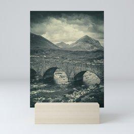 The Bridge and the Cuillin II Mini Art Print
