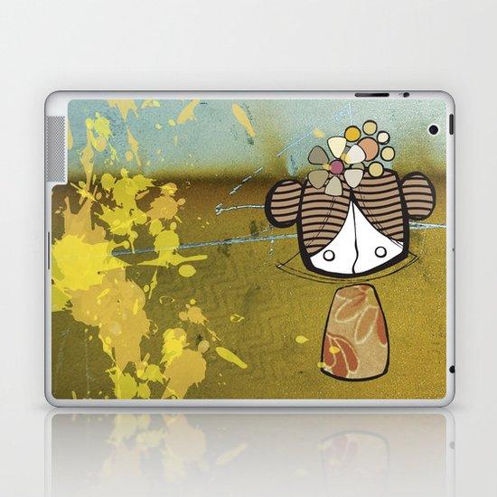 japanese girl Laptop & iPad Skin