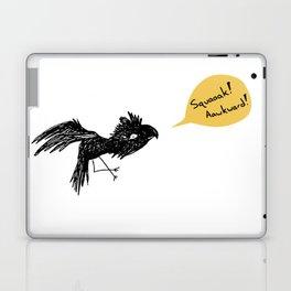 Awkward bird Laptop & iPad Skin