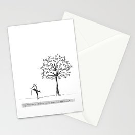 more fish in the tree Stationery Cards