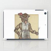 drum iPad Cases featuring Drum Cat by Felis Simha