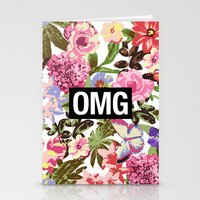 2pac Stationery Cards featuring OMG by Text Guy