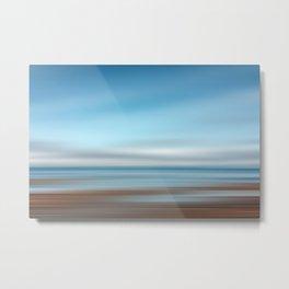 Tide Pool, Abstract Ocean Metal Print