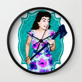 Joan Crawford- Straight Jacket Wall Clock