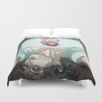 will graham Duvet Covers featuring Remarkable Boy (Will Graham) by Pana Stamos