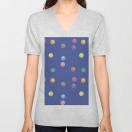 Bubble pattern 3 Unisex V-Neck