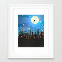 peter pan Framed Art Prints featuring Peter Pan by MagzArt