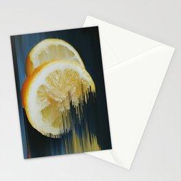Lemony Good Glitch Stationery Cards