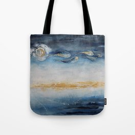 The Earth Looks Better From a Star Tote Bag